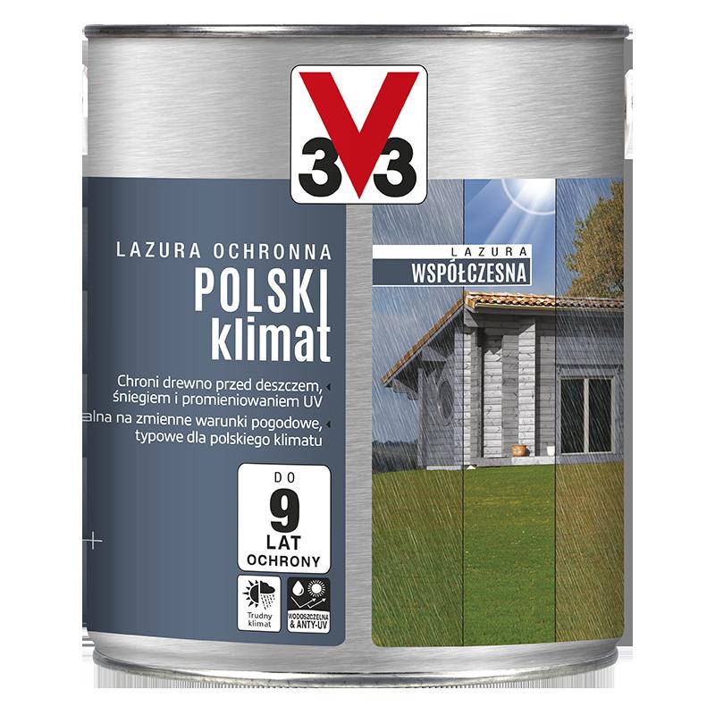 Lazura ochronna współczesna Polski Klimat