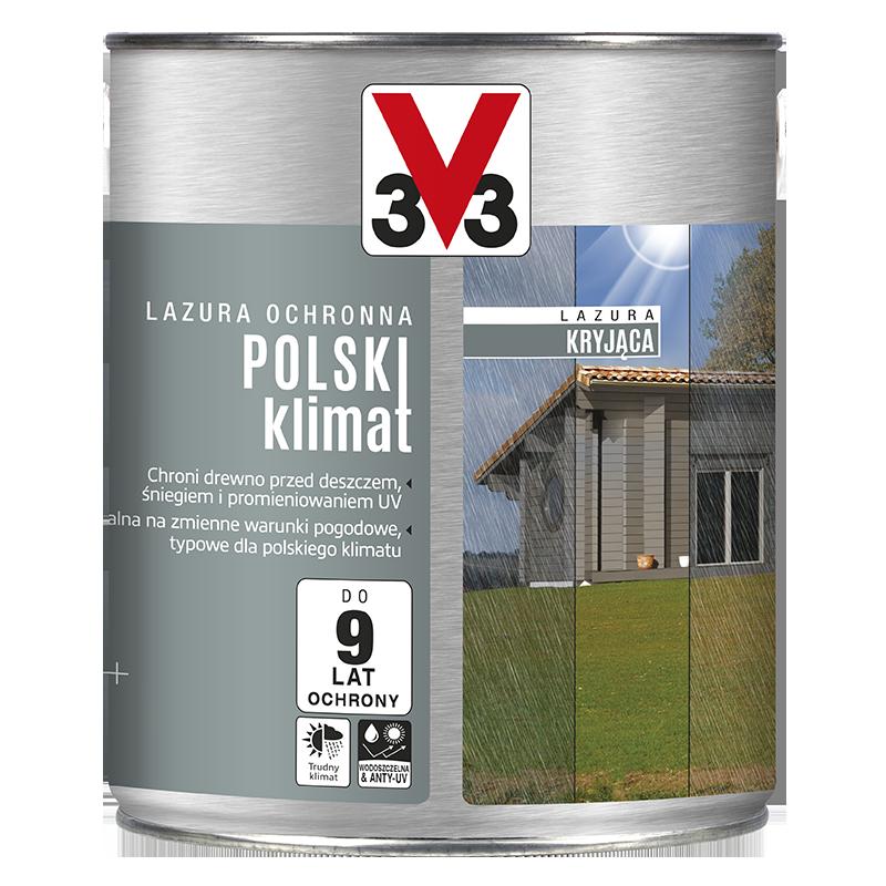 Lazura ochronna kryjąca Polski Klimat
