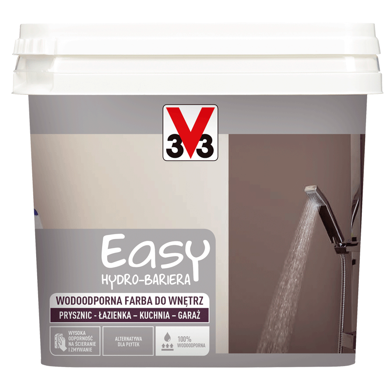 Wodoodporna farba do wnętrz Easy Hydro-Bariera