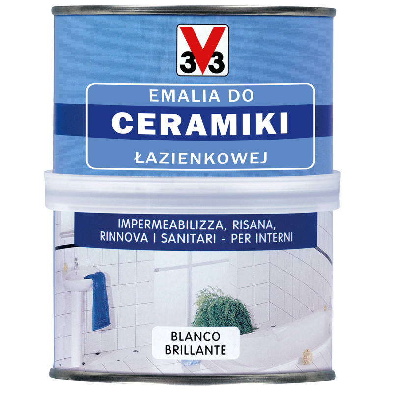 Emalia do ceramiki sanitarnej
