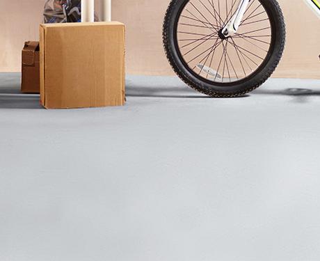 Malowanie podłogi betonowej w garażu