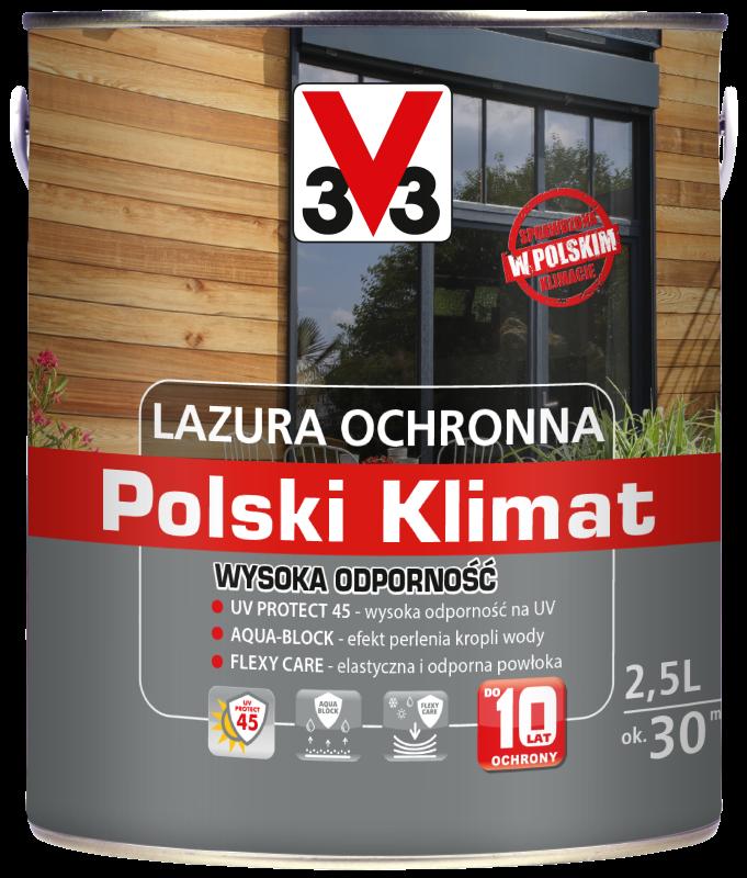 Lazura ochronna Polski Klimat Wysoka Odporność