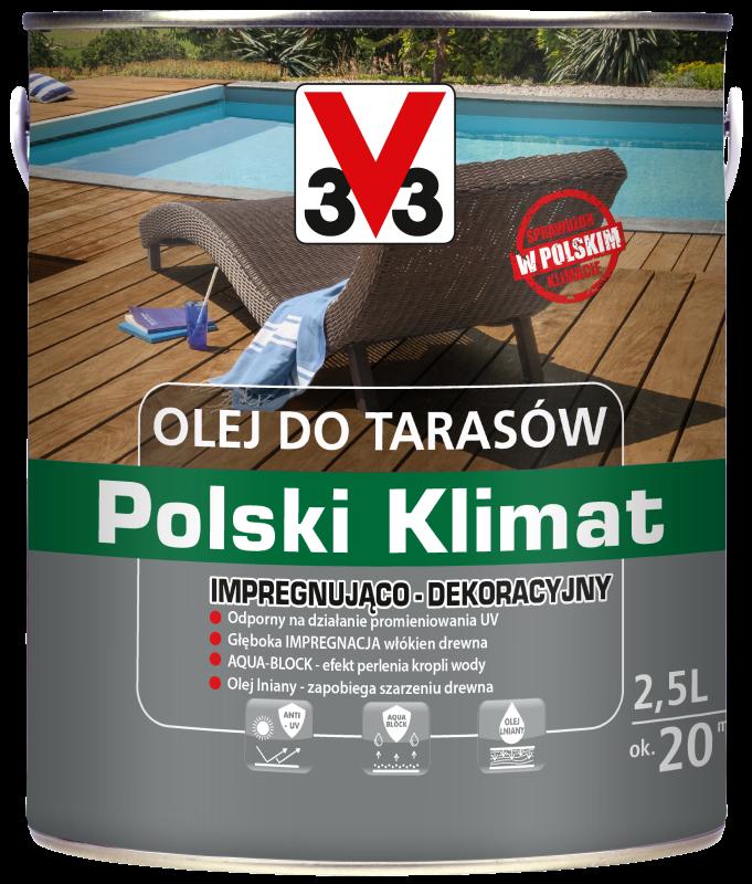 Olej do tarasów Polski Klimat