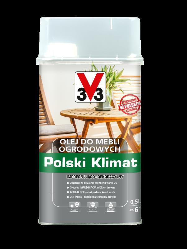 Olej do mebli ogrodowych Polski Klimat